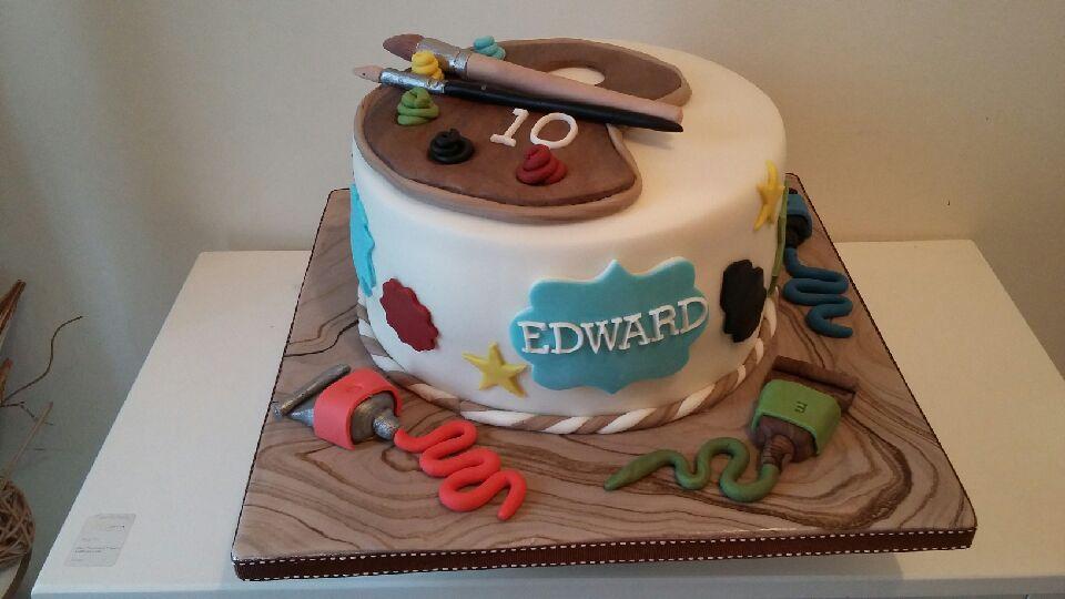 Artist Cake Pallett Mar'17
