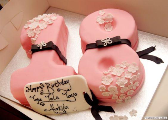 Pink 18 Cake